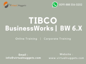 TIBCO BusinessWorks BW 6.X Online Training